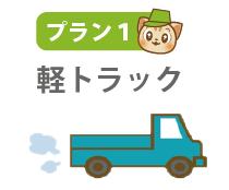 プラン1:軽トラックに積み放題プラン